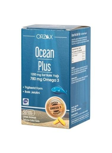 Ocean Ocean Plus Omega 3 780 mg 50 Kapsü Renksiz